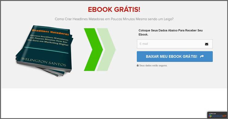 Squeeze Ebook - Como Criar uma Página de Captura Grátis