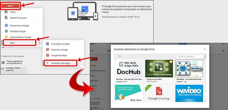 Criando Arquivo Google Drive Apps
