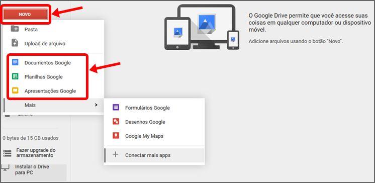 Criando Arquivo Google Drive
