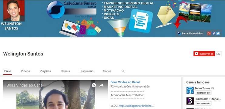 Ganhar Dinheiro Internet Afiliado Canal Youtube